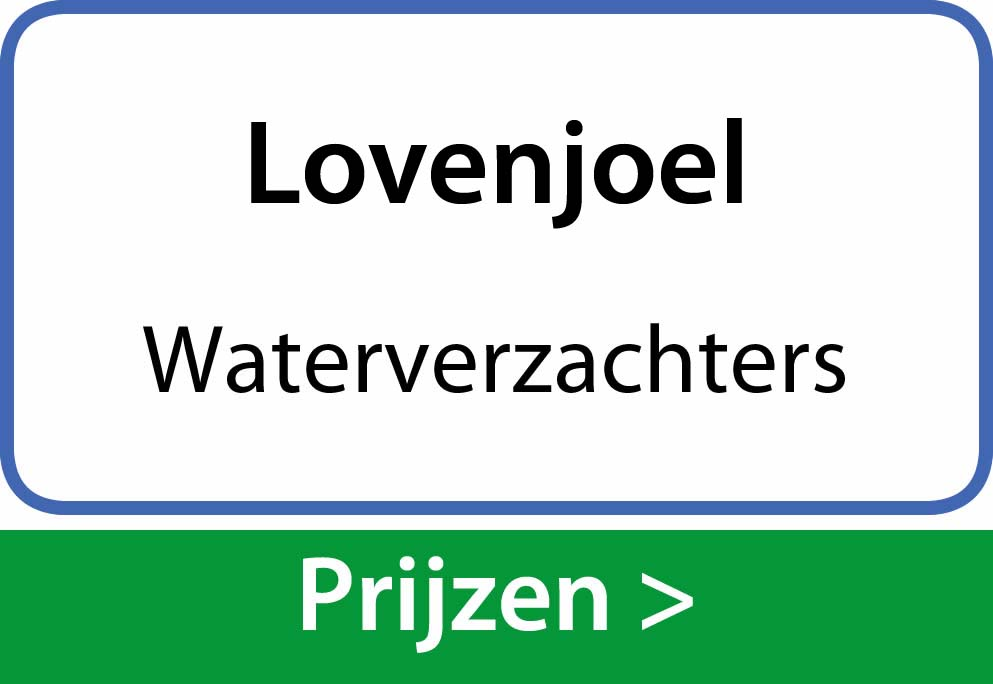 waterverzachters Lovenjoel