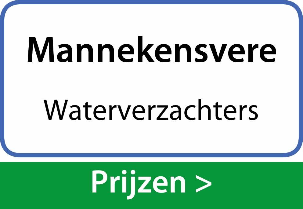 waterverzachters Mannekensvere