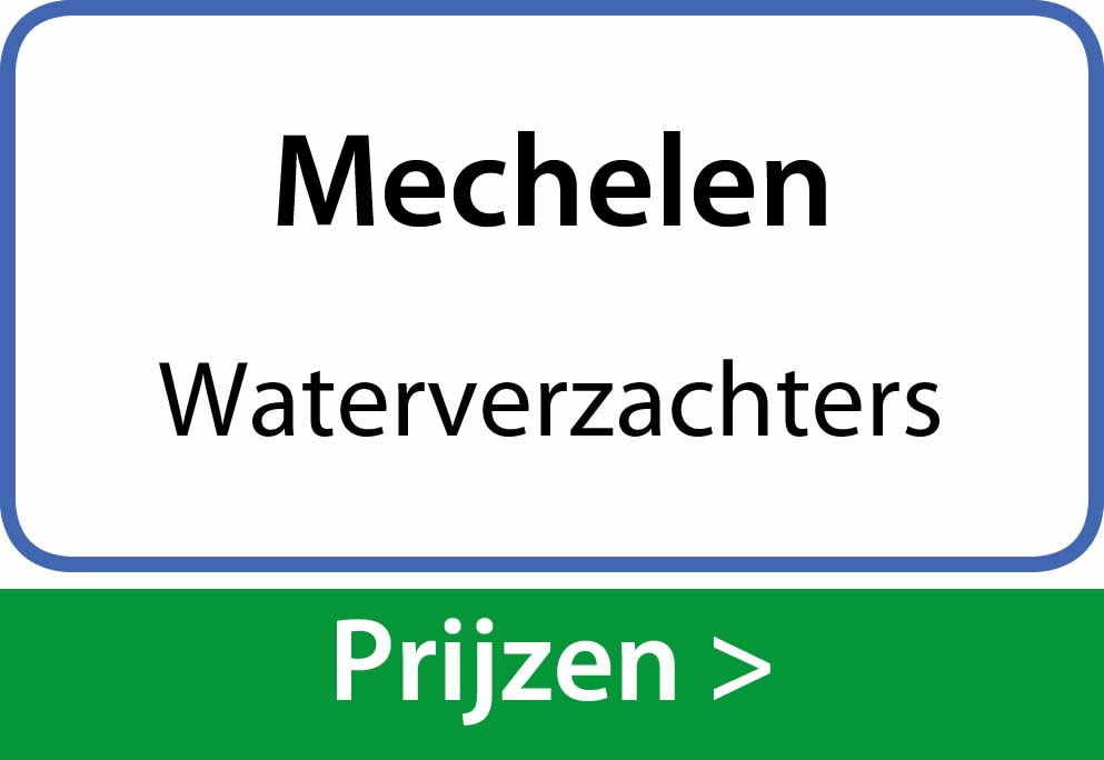 waterverzachters Mechelen