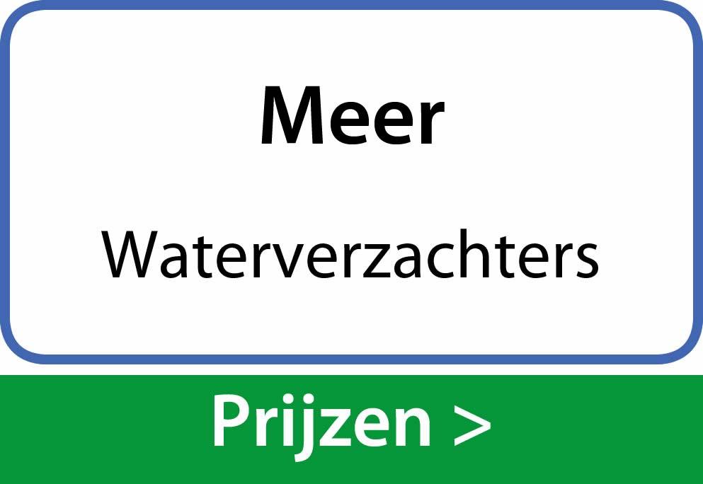 waterverzachters Meer