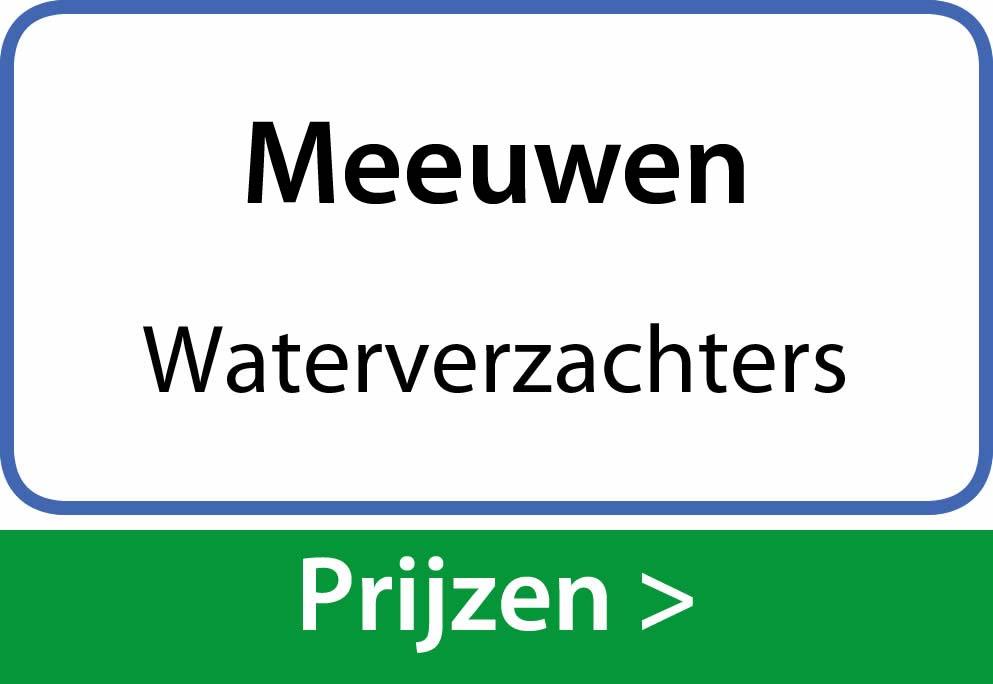 waterverzachters Meeuwen