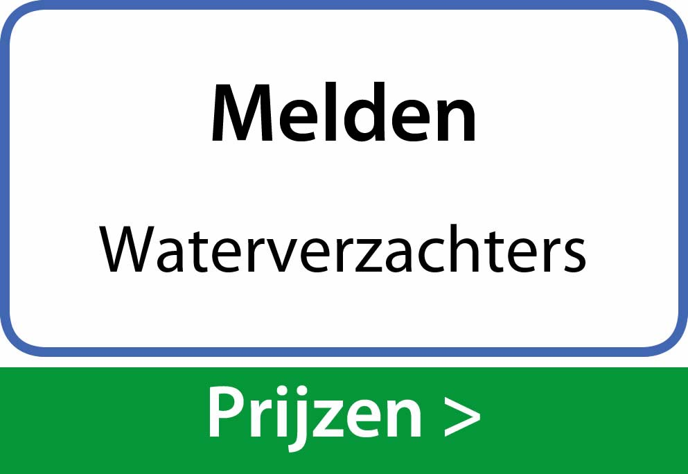 waterverzachters Melden