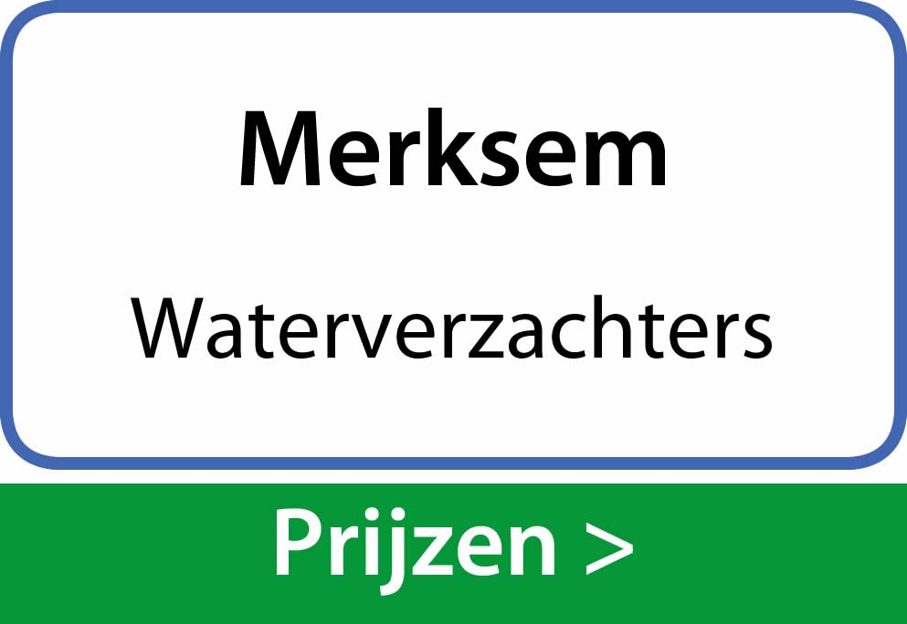 waterverzachters Merksem