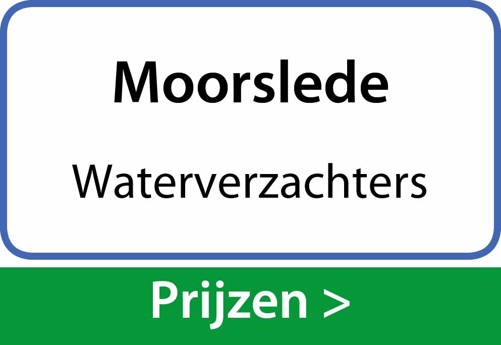 waterverzachters Moorslede