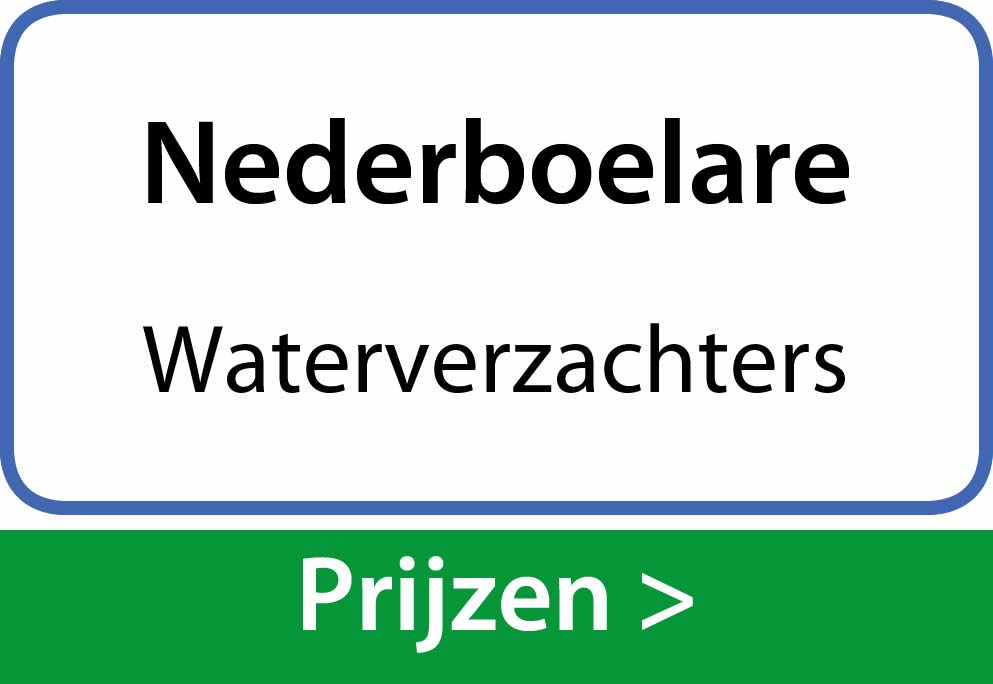 waterverzachters Nederboelare