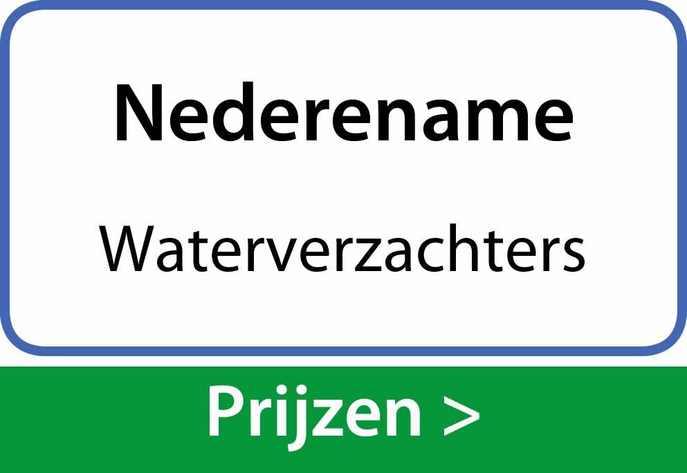 waterverzachters Nederename