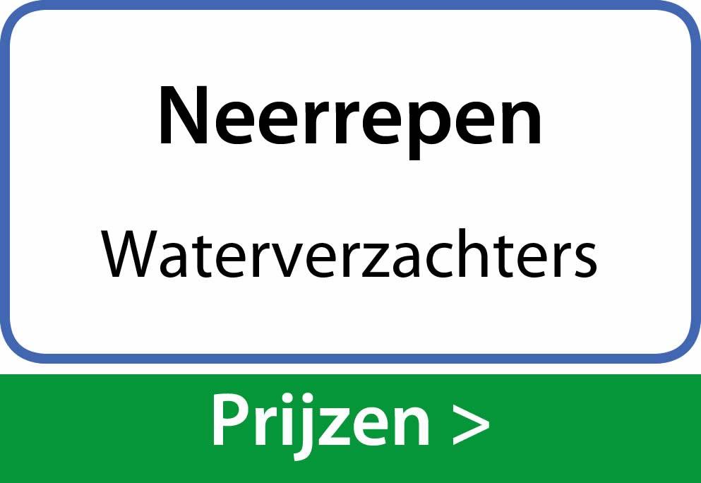 waterverzachters Neerrepen