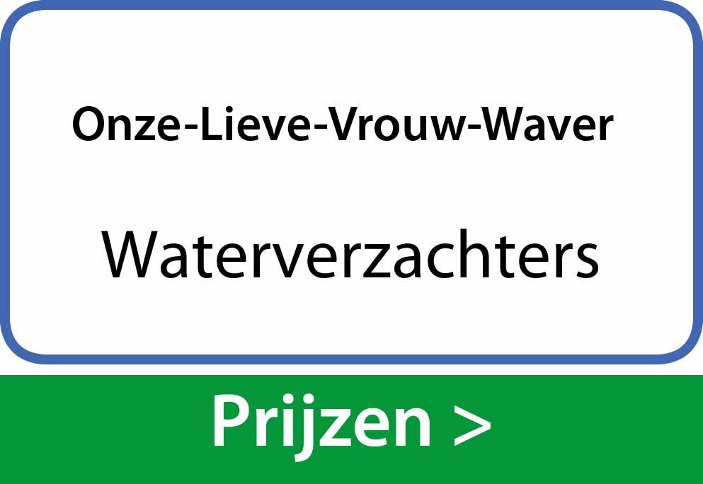 waterverzachters Onze-Lieve-Vrouw-Waver