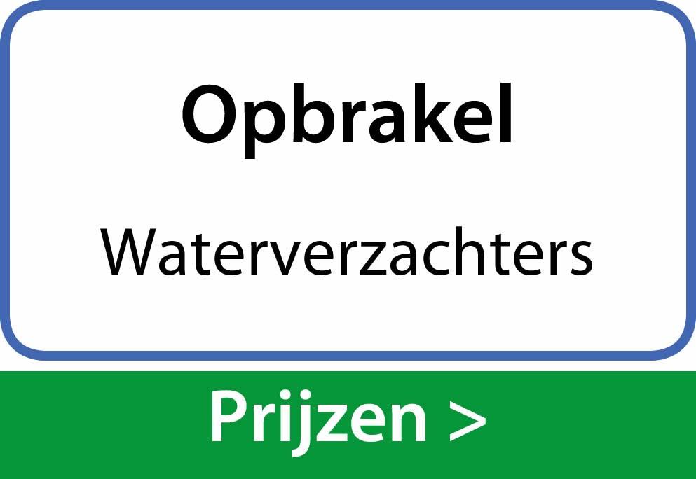 waterverzachters Opbrakel