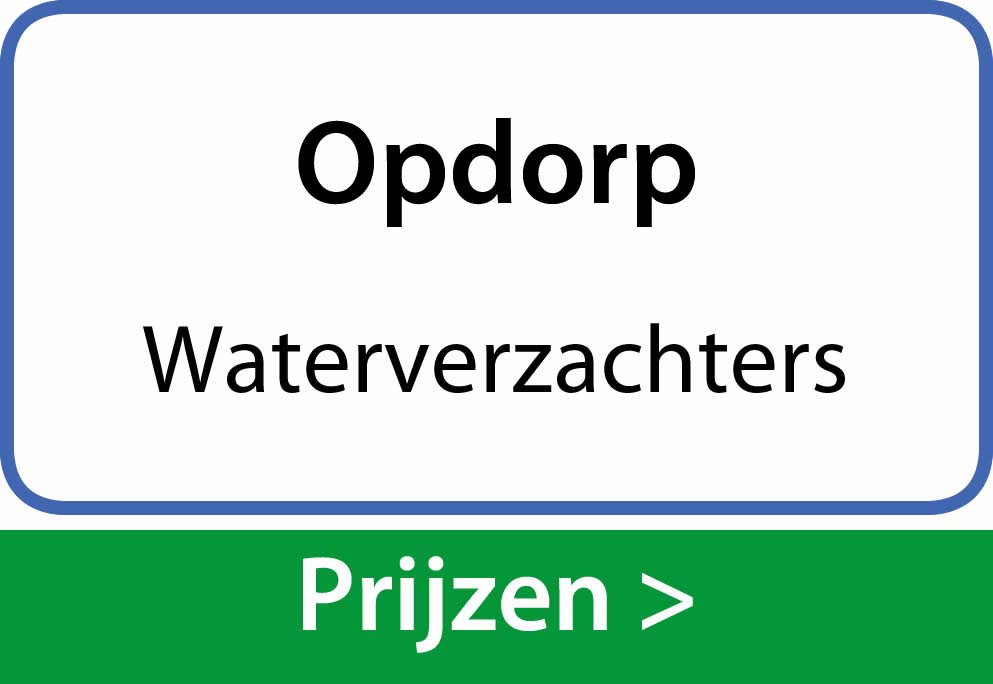 waterverzachters Opdorp