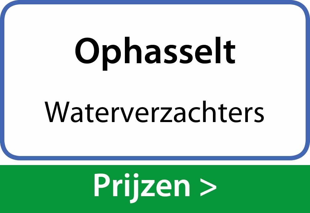 waterverzachters Ophasselt