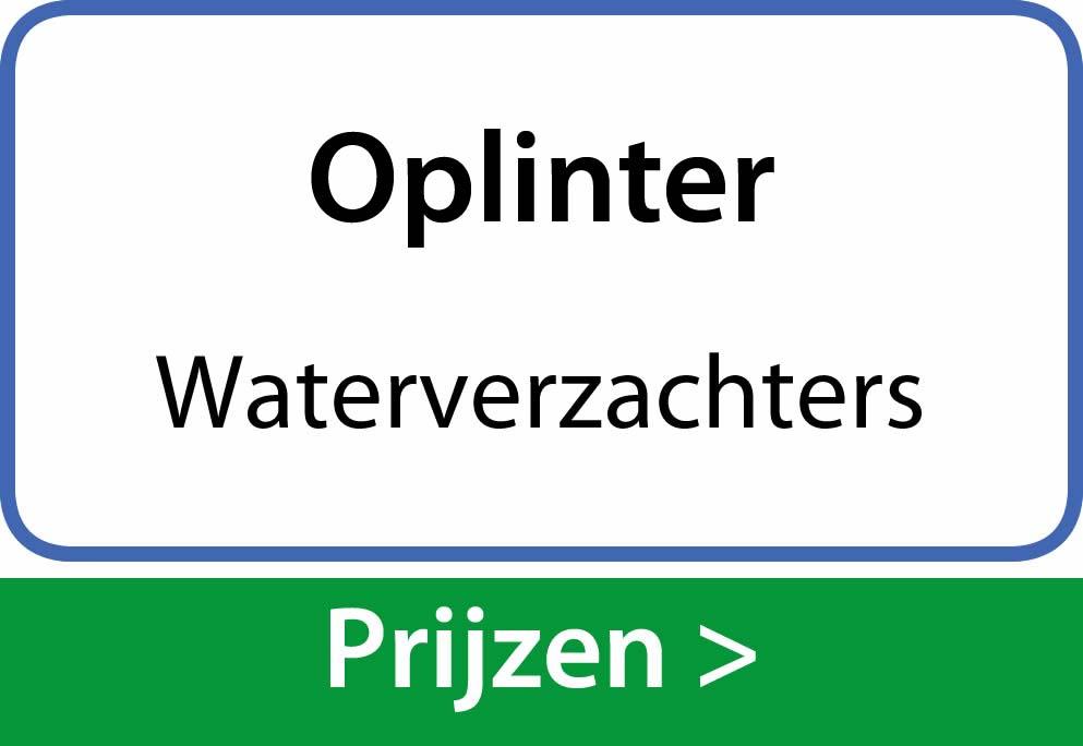 waterverzachters Oplinter