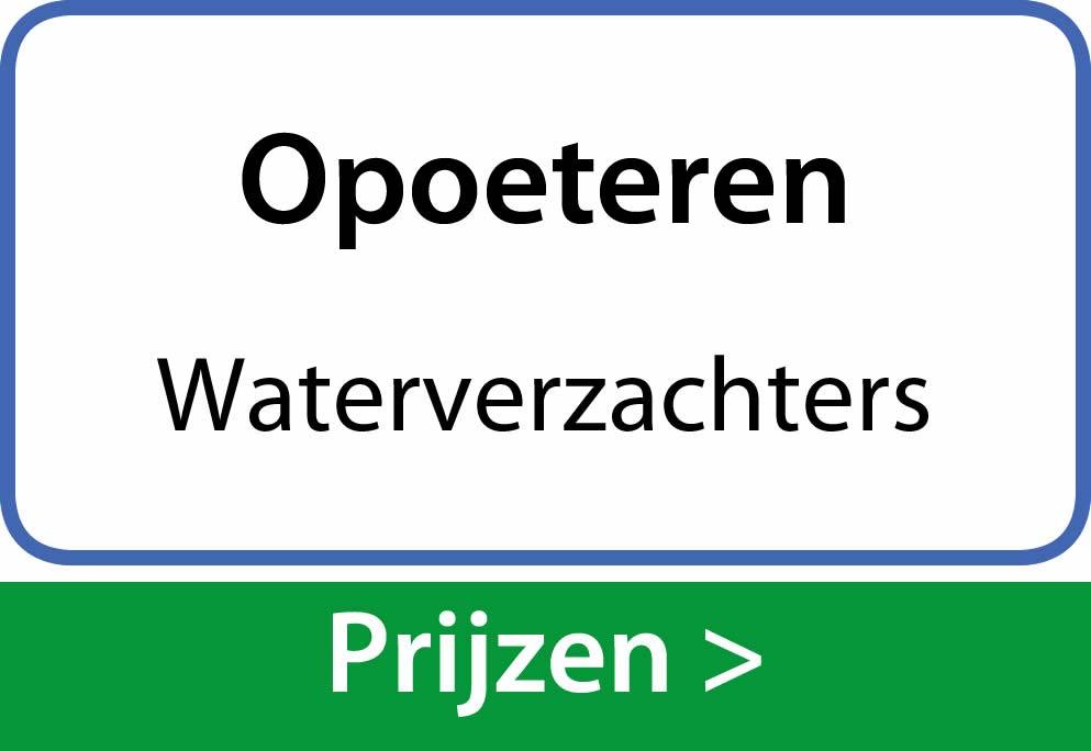 waterverzachters Opoeteren