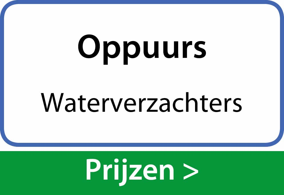 waterverzachters Oppuurs