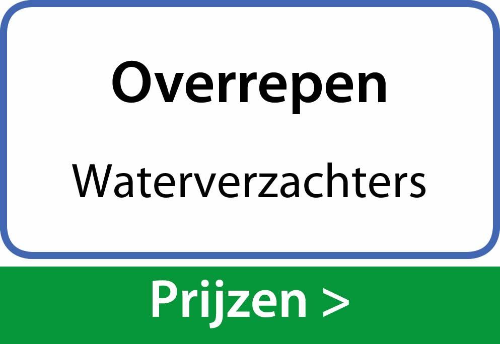 waterverzachters Overrepen