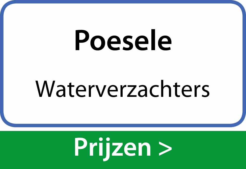 waterverzachters Poesele
