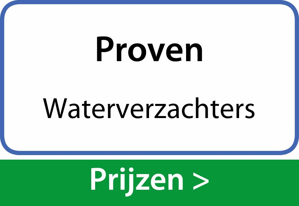 waterverzachters Proven