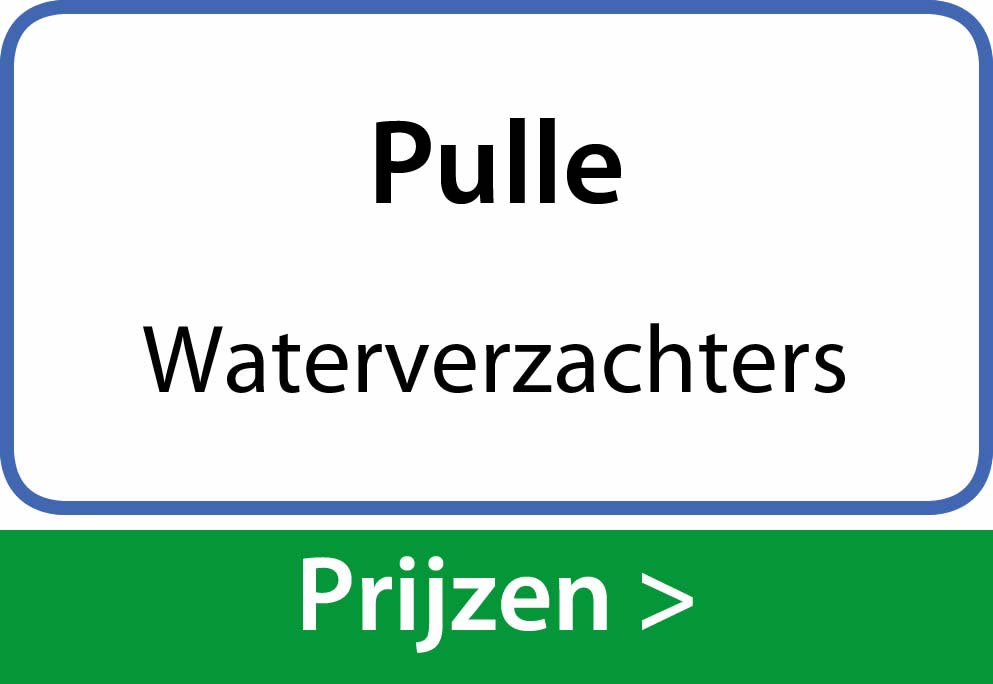 waterverzachters Pulle