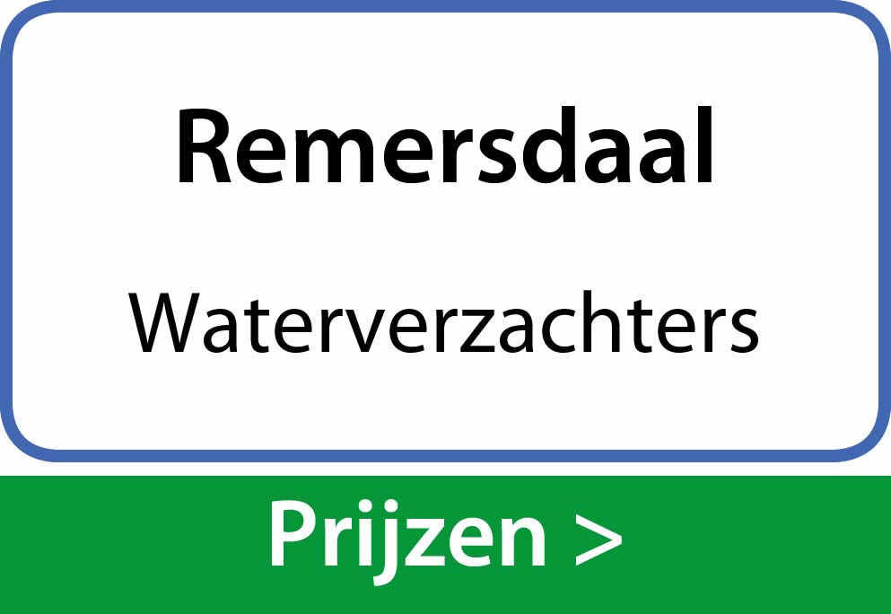 waterverzachters Remersdaal