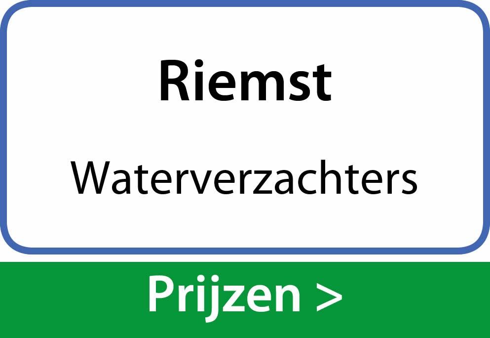 waterverzachters Riemst