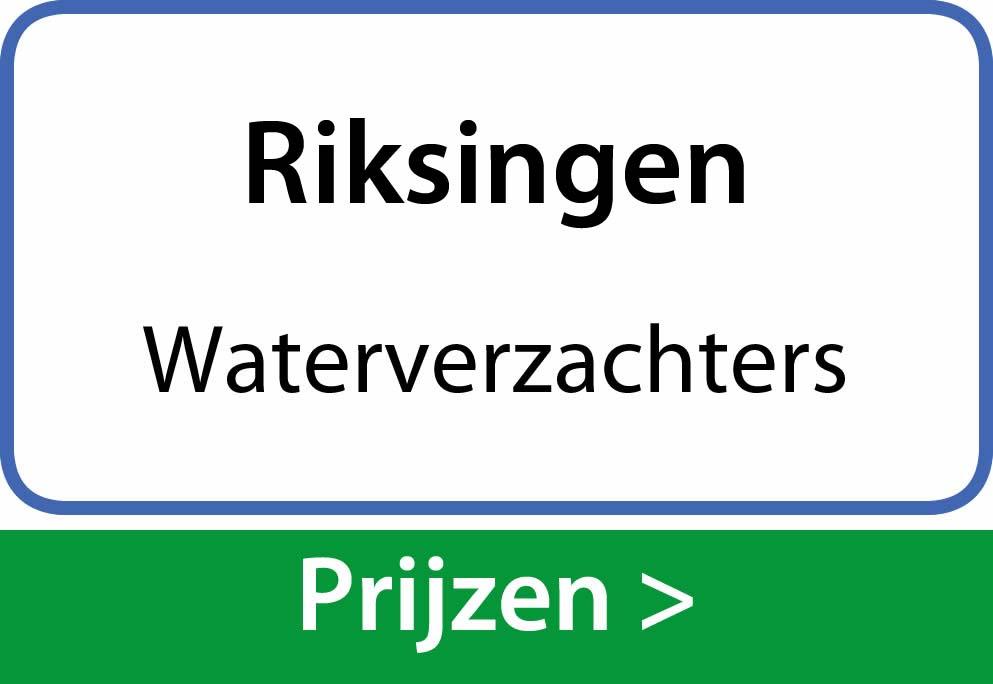 waterverzachters Riksingen