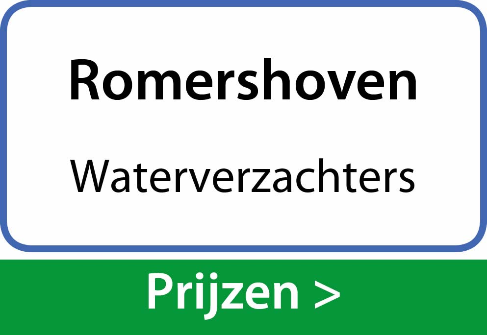 waterverzachters Romershoven