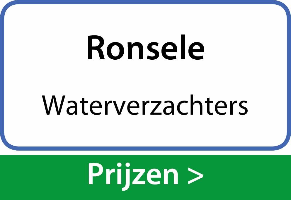 waterverzachters Ronsele