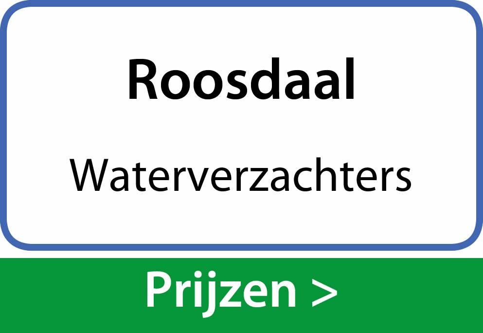 waterverzachters Roosdaal