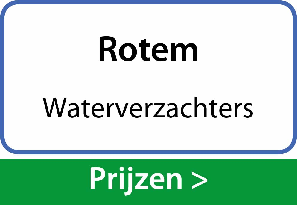 waterverzachters Rotem