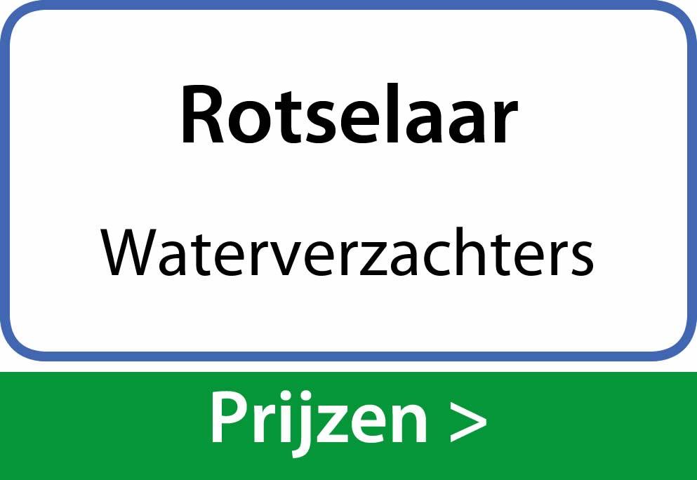 waterverzachters Rotselaar