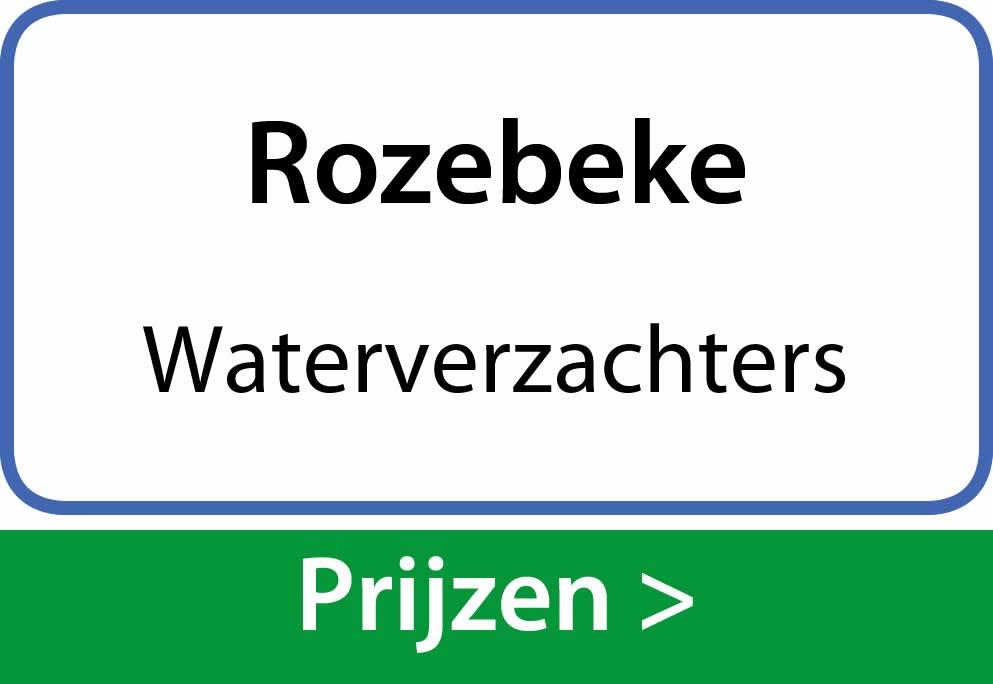 waterverzachters Rozebeke
