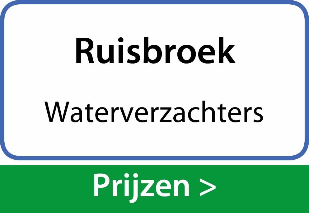 waterverzachters Ruisbroek