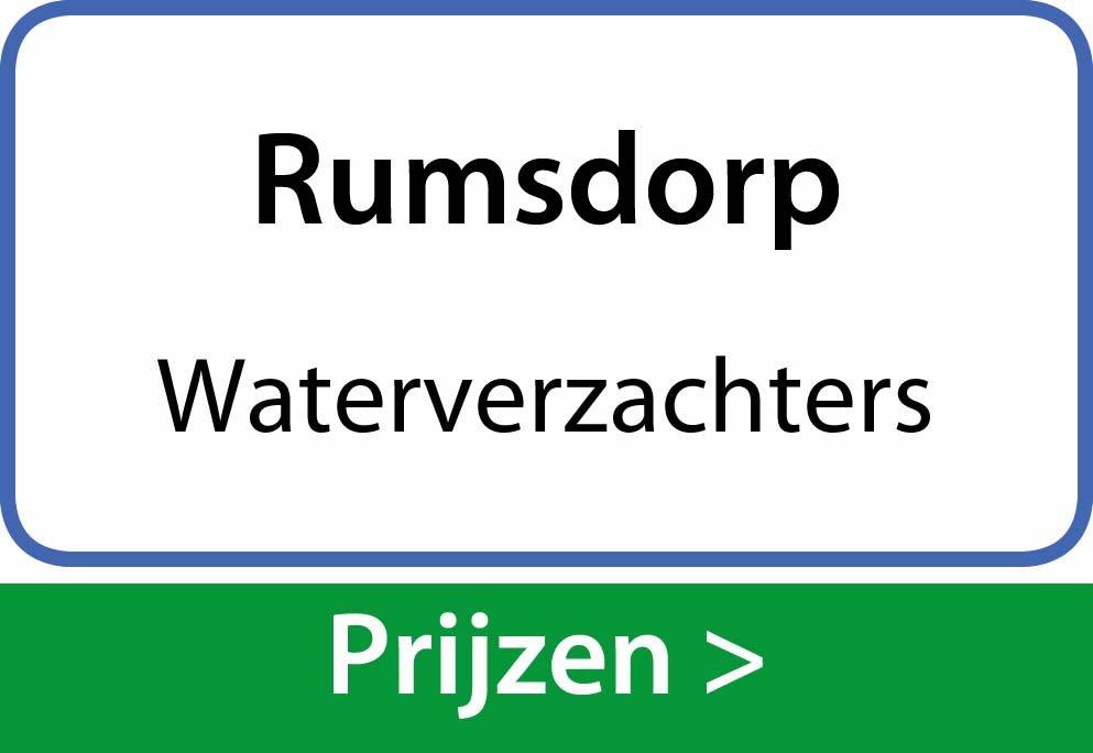 waterverzachters Rumsdorp