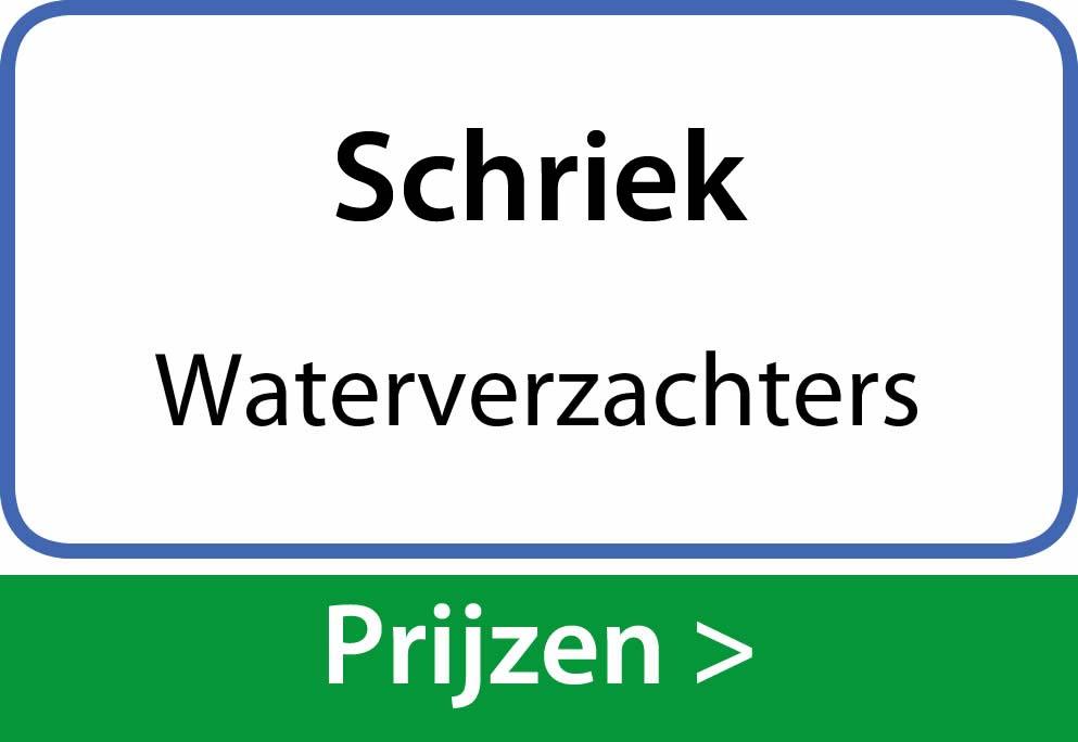 waterverzachters Schriek