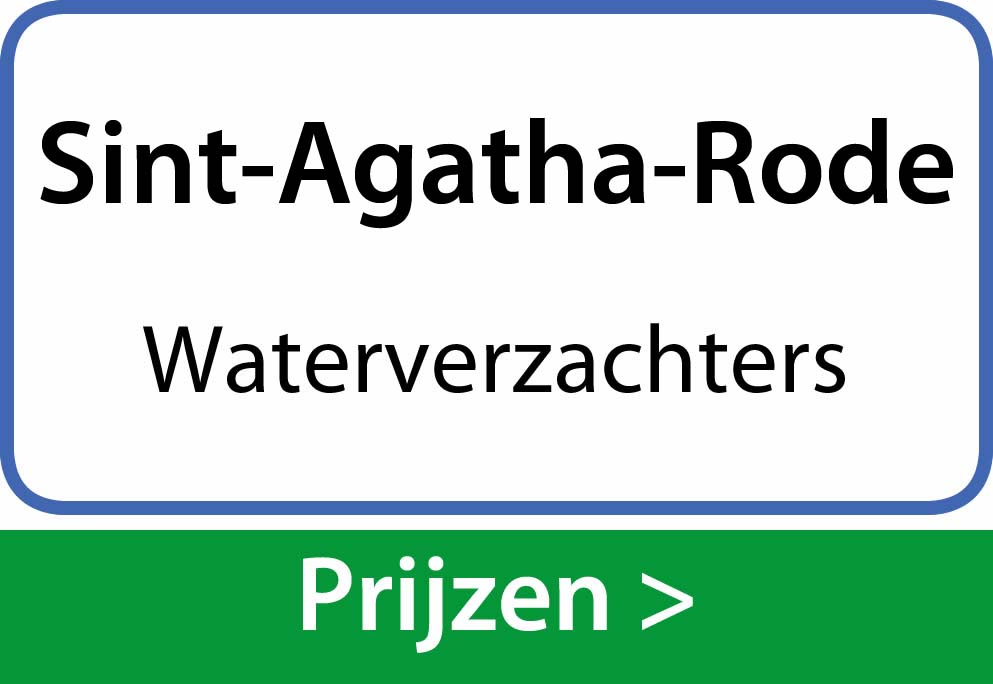 waterverzachters Sint-Agatha-Rode