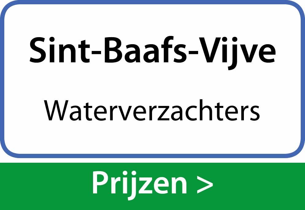 waterverzachters Sint-Baafs-Vijve