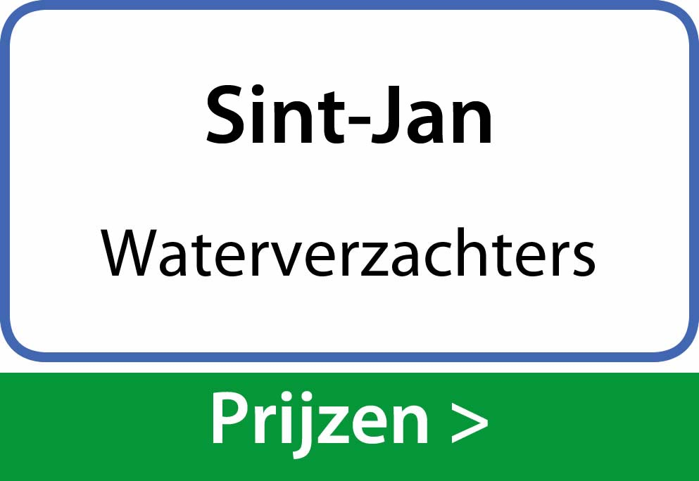 waterverzachters Sint-Jan