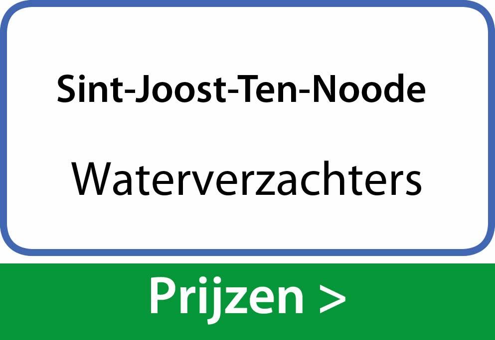 waterverzachters Sint-Joost-Ten-Noode