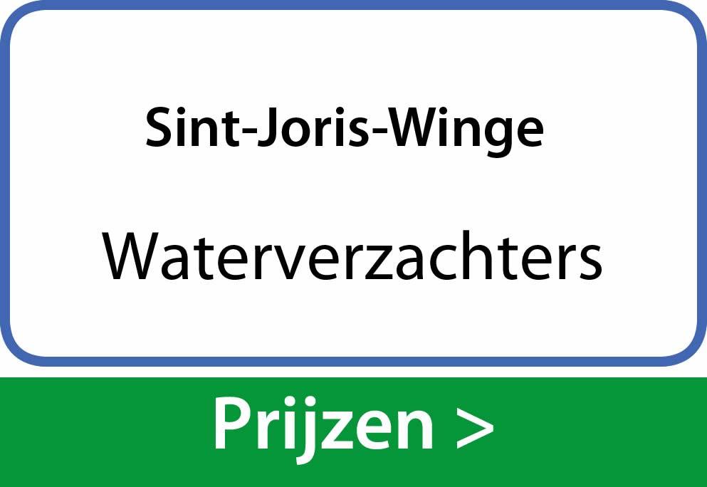 waterverzachters Sint-Joris-Winge