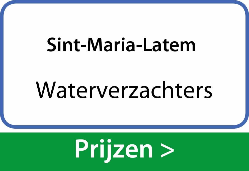 waterverzachters Sint-Maria-Latem