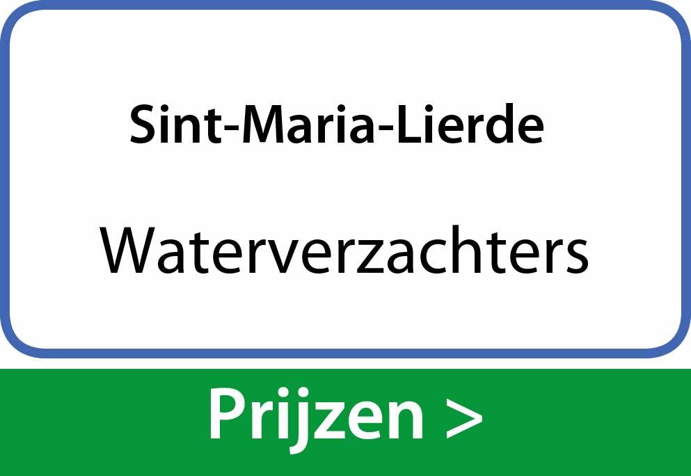 waterverzachters Sint-Maria-Lierde