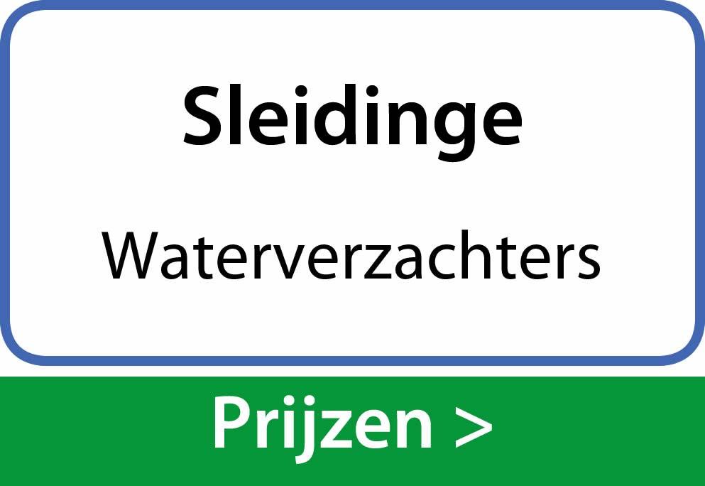 waterverzachters Sleidinge