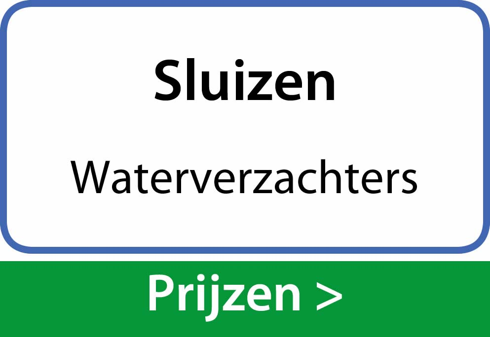 waterverzachters Sluizen