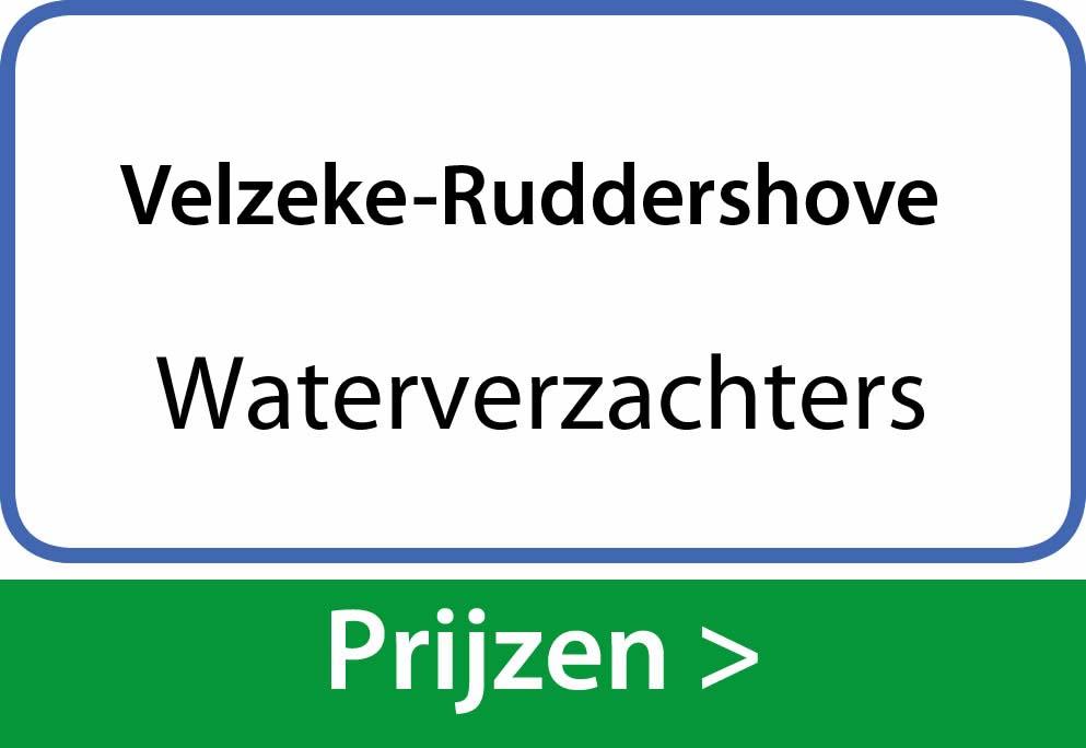 waterverzachters Velzeke-Ruddershove