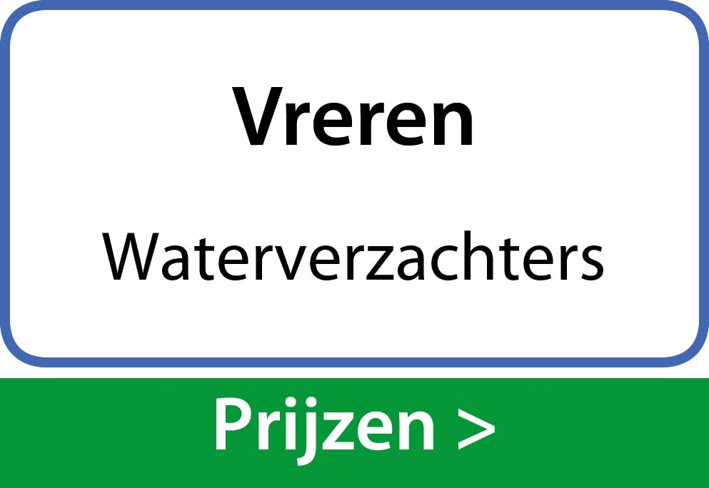 waterverzachters Vreren