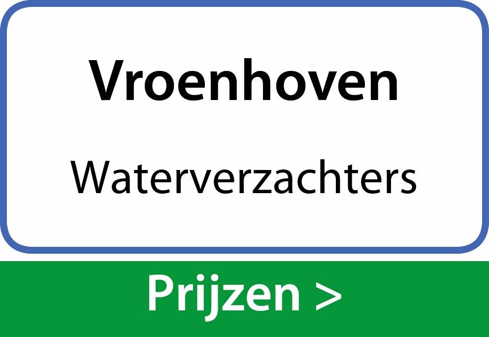 waterverzachters Vroenhoven