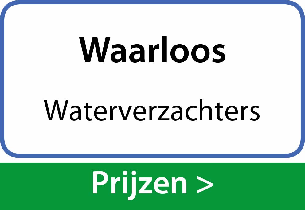 waterverzachters Waarloos