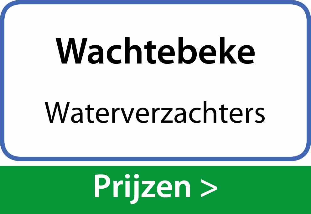waterverzachters Wachtebeke