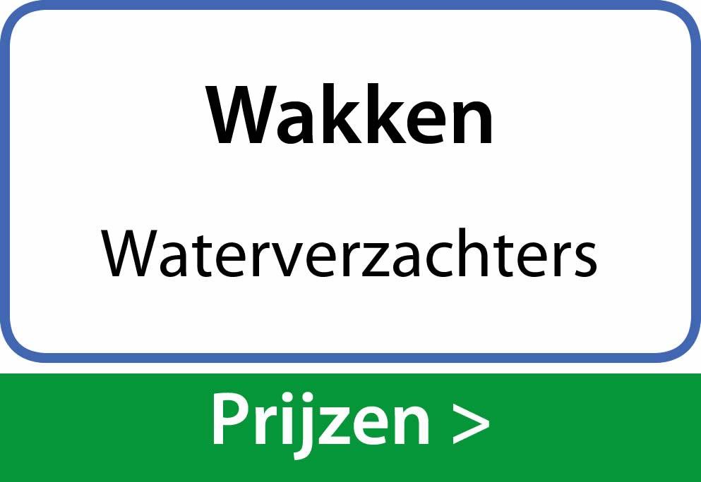 waterverzachters Wakken