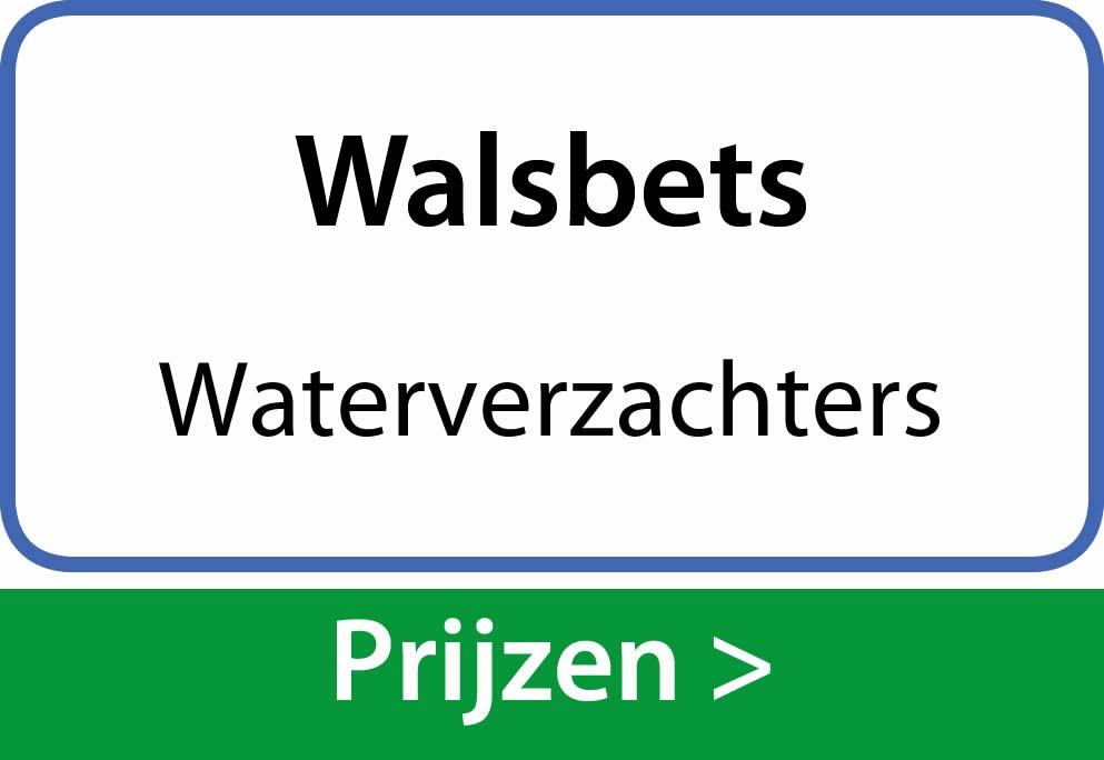 waterverzachters Walsbets